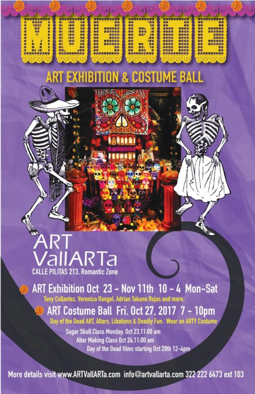 Dia de los Muertos Costume Ball and Gallery Exhibition- 2017