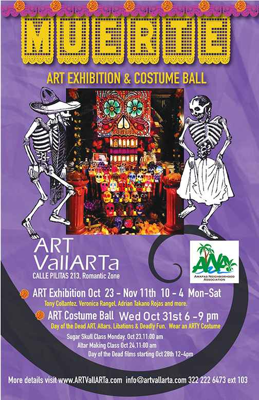 2018 Dia de los Muertos Festival, Costume Ball  Gala, and Exhibition