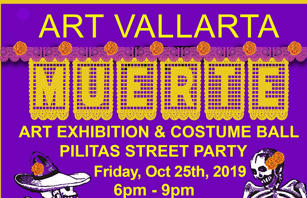 2019 DIA DE LOS MUERTOS ART EXHIBITION AND COSTUME BALL – PILITAS STREET PARTY