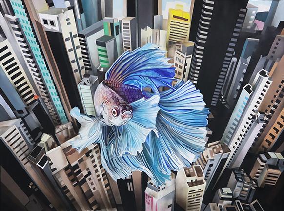 Dream of a Betta Fish New York web
