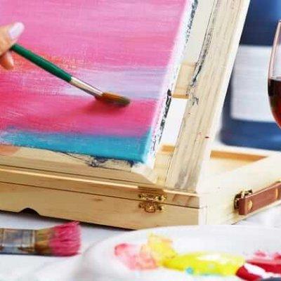 vino y arte